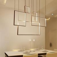 Minimalism Creative Modern Led Pendant Lights For Living Dining Room lamparas colgantes AC85 265V Aluminum Body Pendant Lamp