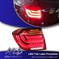 One-Stop Shopping Styling for Toyota Highlander Tail Lights 2012-2013 Highlander LED Tail Light Rear Lamp DRL+Brake+Park+Signal