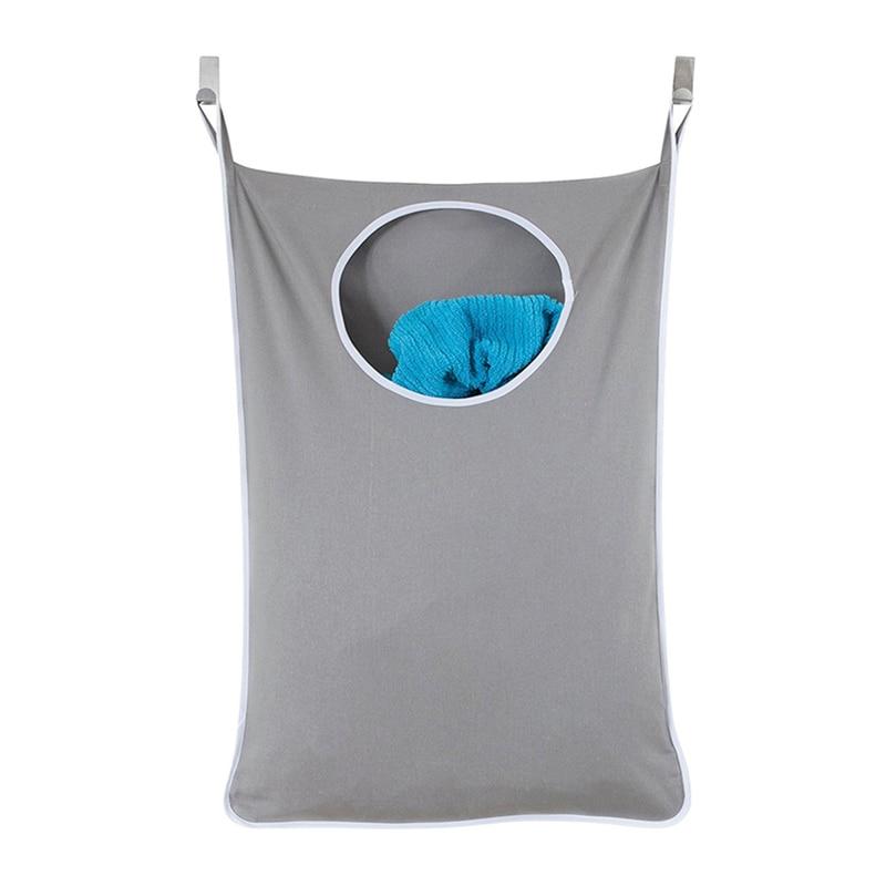 Large Laundry Basket For Dirty Clothes Organizer Laundry Hamper Door Hanging Storage Toy Holder Washing Bag Home Washing Bag