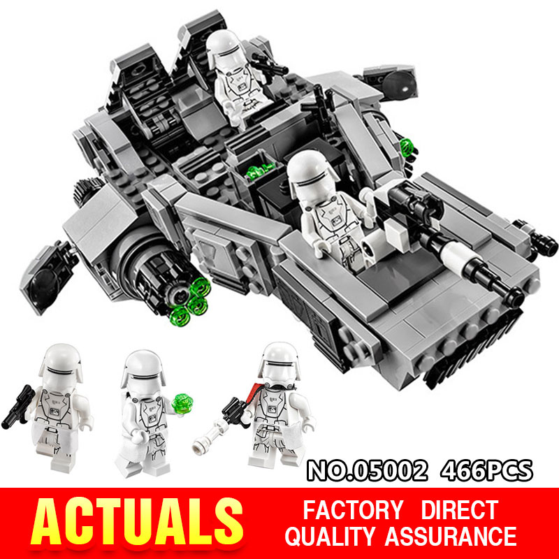 LEPIN 05002 Star Series War The First Order Transporter Set Building Blocks Bricks Educational Toys Compatible With lego 75100 2015 high quality spaceship building blocks compatible with lego star war ship fighter scale model bricks toys christmas gift