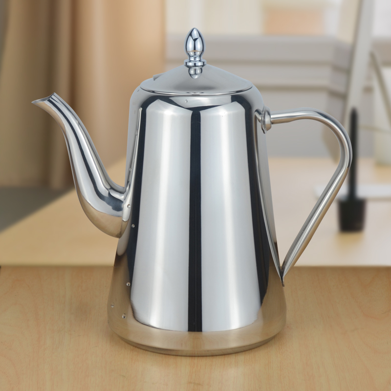 Sanqia 1800ml stainless steel water bottle cold water kettle drinkware water pot Suitable for induction cooker kitchen items