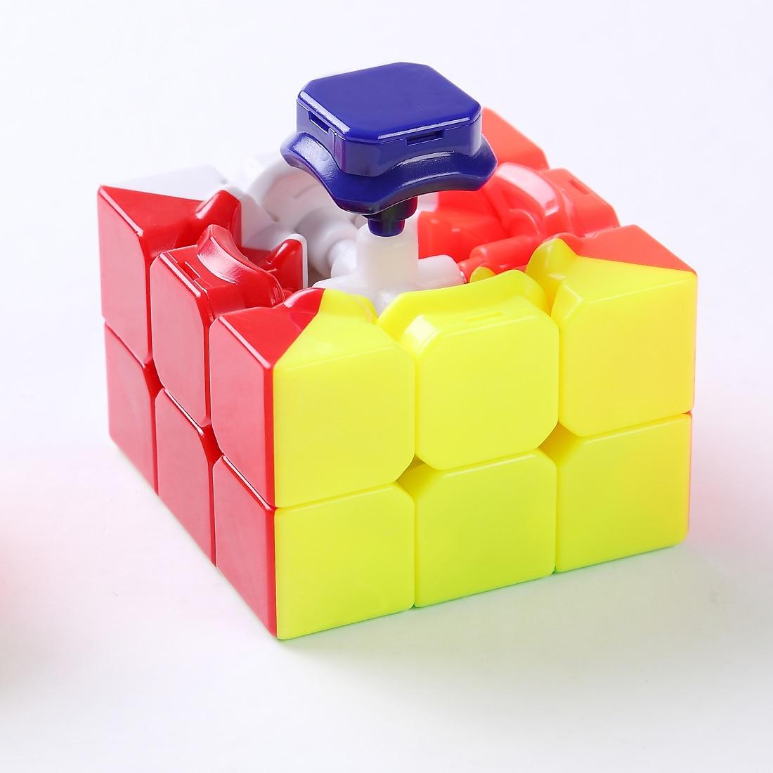 Cube Cyclone Boys FeiWu Mini 3x3x3 Stickerless Speed Cube 40cm or New Qiyi Mofangge Warrior 5.7cm Speed cube
