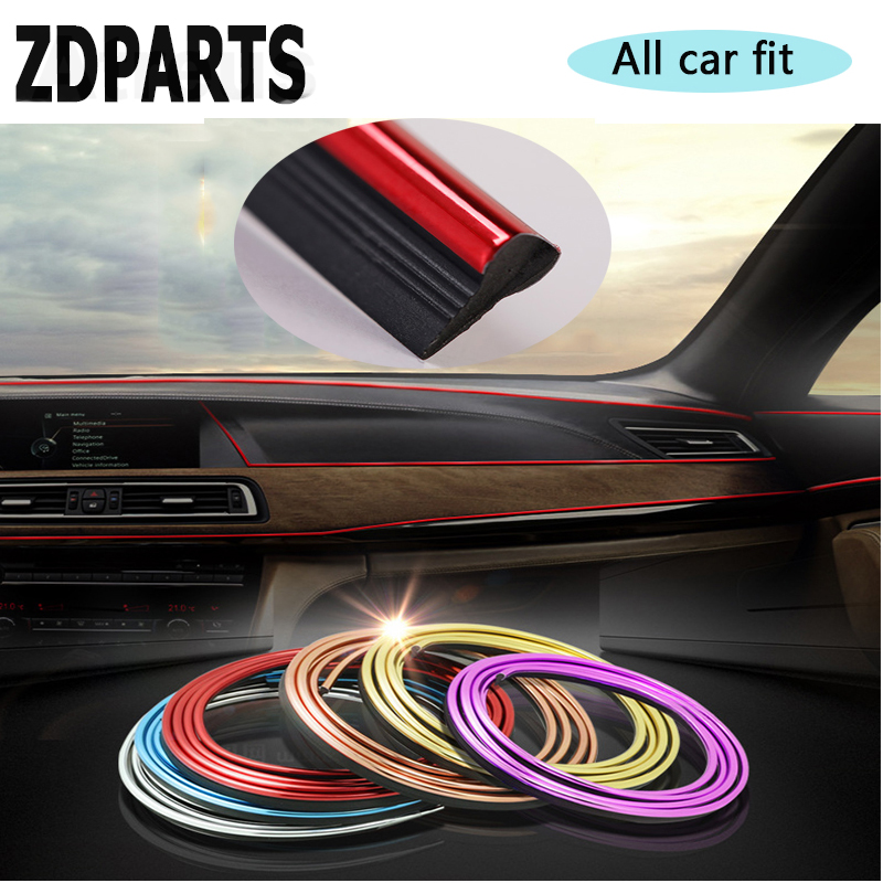 ZDPARTS 3M Automobiles Car Internal Decorative Trim Sticker For Audi A3 A4 B7 B8 B6 A6 C6 C5 Q5 Nissan Qashqai Juke X-trail T32