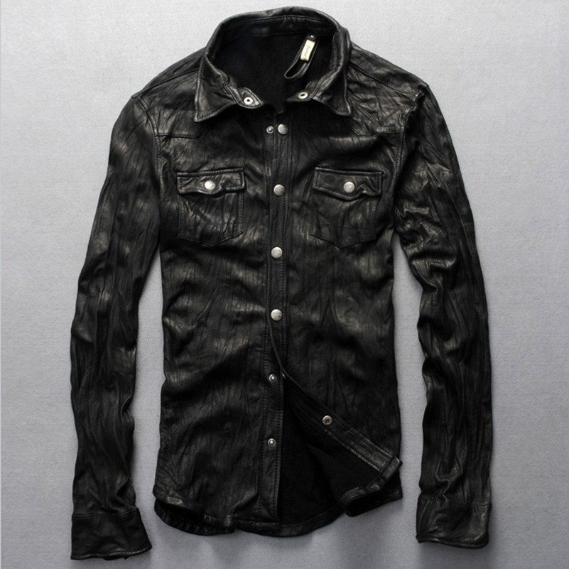 Online Get Cheap Mens Tight Leather Jacket -Aliexpress.com ...