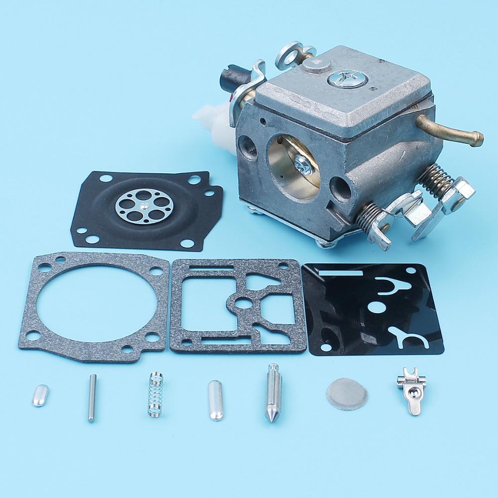 Tools : Carburetor w  Repair Rebuild Kit For Husqvarna 340 345 346XP 350 351 353 E EPA Chainsaw Egine Motor 503283208 Zama C3-EL18B