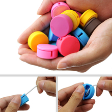 Multi-color 3.1*3.1cm Headphone Winder Phone Screen Wipe Practical Tools,Cable Winder, Cord Organizer