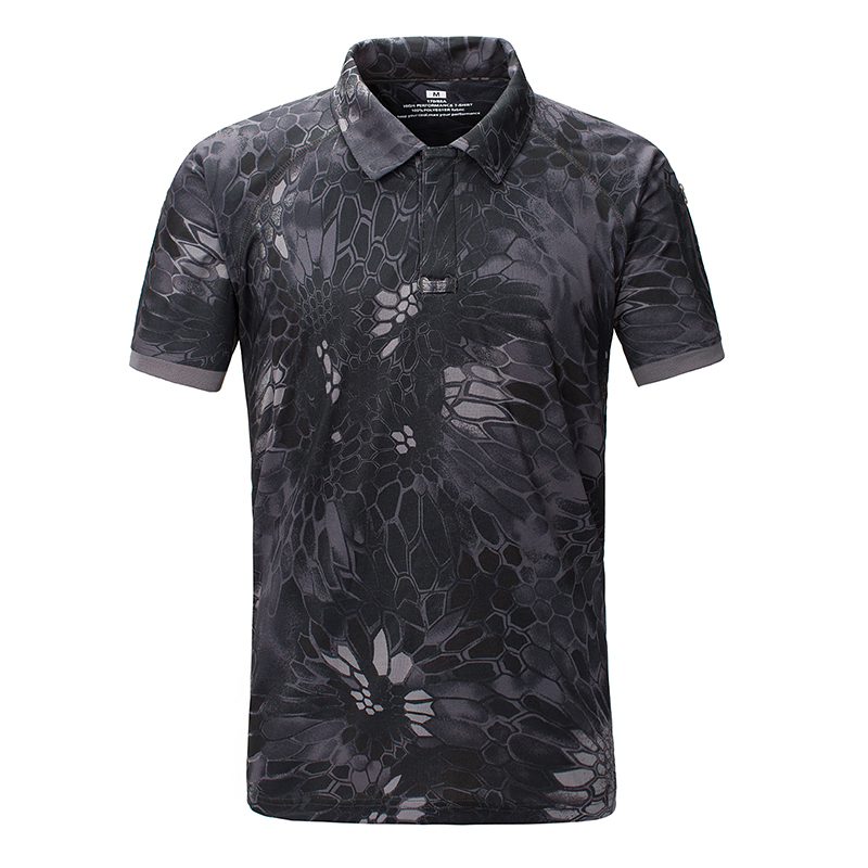 Man Camouflage T shirt Men Cotton Army Tactical Combat T Shirt Military Sport Camo font b