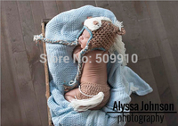 2014 Promotion New Character Baby Newborn Photography Props Horse Style Costume Hand Crochet Knit Infant Beanie