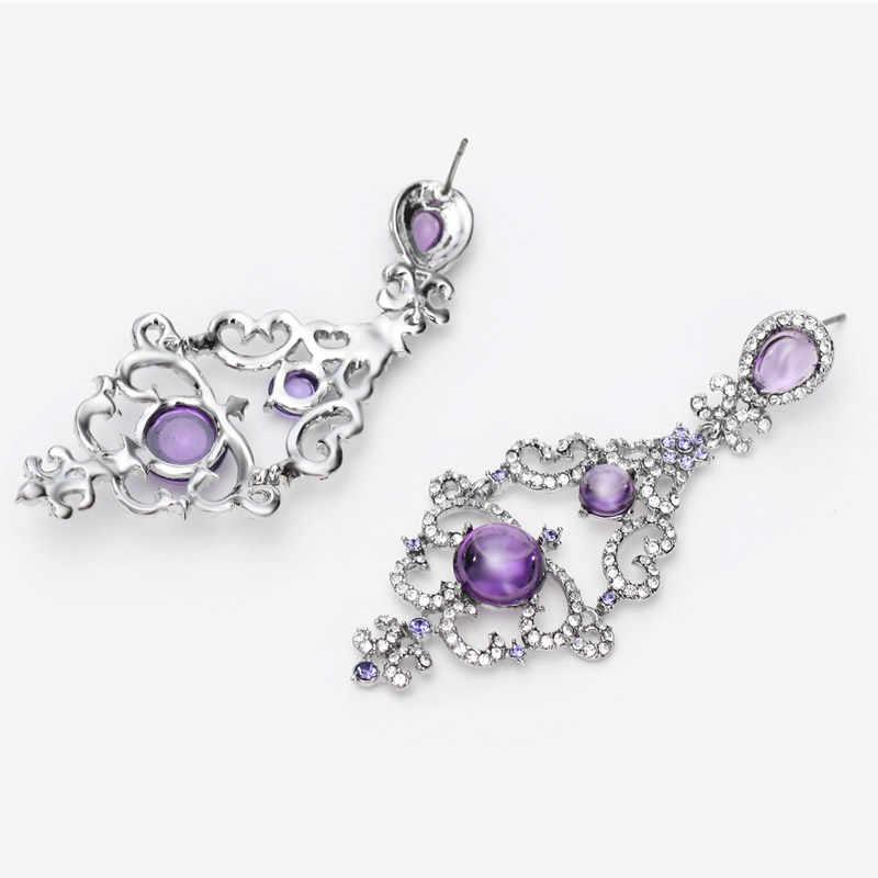 Neoglory австрийский горный хрусталь падение Циркон люстра Серьги brincos для Для женщин newjewelry BIGE1 qc