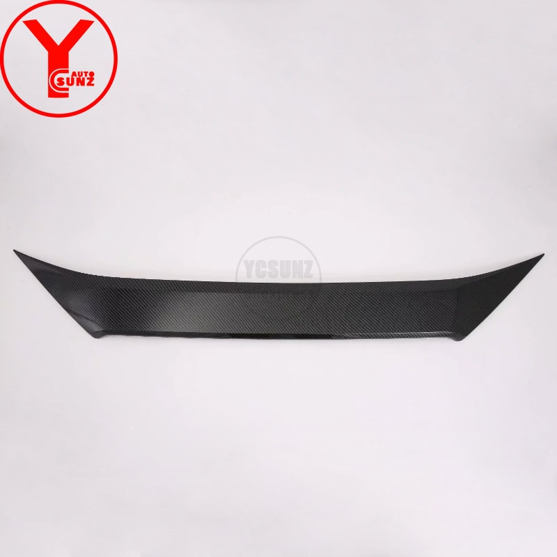 YCSUNZ ABS carbon car hoods trim Bug Shields car parts auto For toyota rav4 2019 accessories Bug Shields For toyota rav4 2019