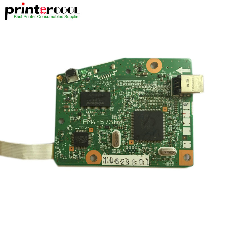 Used Formatter Board logic Main Board MainBoard mother board For Canon LBP6000 LBP6018 LBP6108 6000 6018 6108 printer brand new printer spare parts logic board laserjet for hp175nw 175n 175a formatter board main board