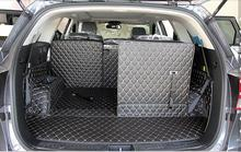 Good carpets! Special car trunk mats for KIA Sorento 7seats 2015 durable waterproof luggage 2015,Free shipping