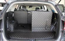 CHOWTOTO Custom Special Car Trunk Mats For KIA Sorento 7seats Durable Waterproof Luggage Mats For Sorento 7 Seats