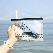 Office Stationery Cute Student Pencil Pen Case Cosmetic Pouch Pocket Brush Holder Makeup Bag D328