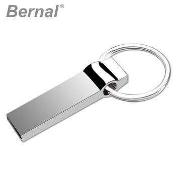 Bernal USB 2.0 FLASH DRIVE DISK metal rotate MEMORY waterproof USB PENDRIVE 8GB 16GB 32GB 64GB 128GB usb flash drives flash disk
