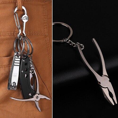 d9fb2db13e14 Aleación de zinc hombres llavero mini Tornillos herramienta ornamento  colgante llavero regalo