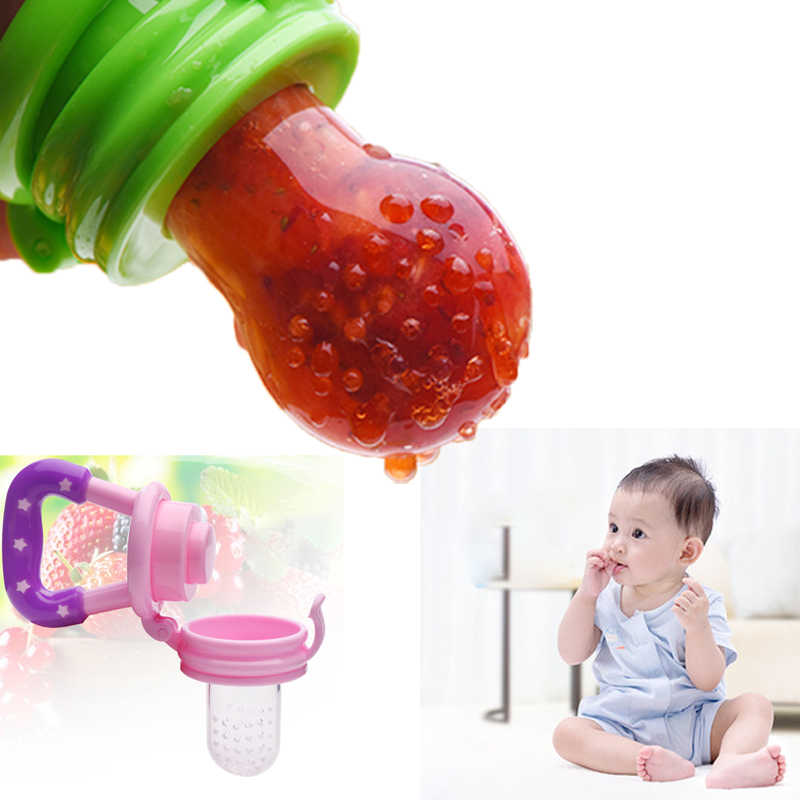 Silicone Baby Pacifier Infant Nipple Soother Toddler Kids Pacifier Feeder For Fruits Food Baby Feeding Dummy Pacifier
