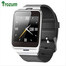 "TROZUM GV18 SmartWatch Bluetooth Aplus Life waterproof smart watch Phone 1:55 ""Support FM Radio SIM TF card camera for Android"