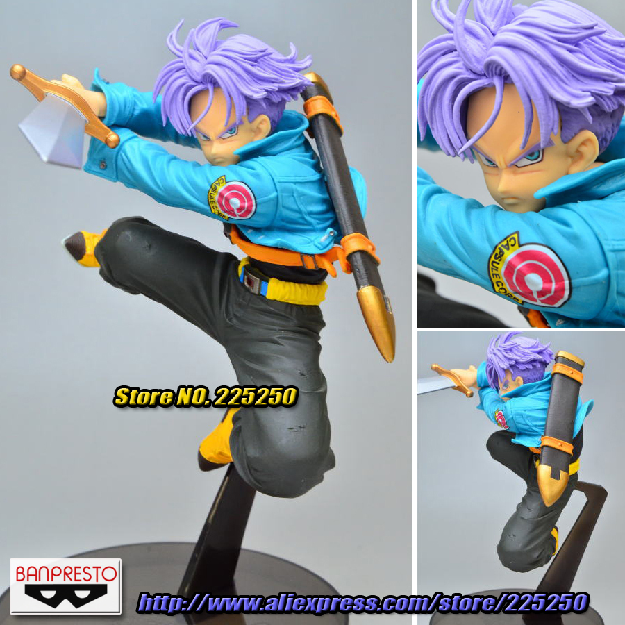 Japanese Anime DRAGONBALL Dragon Ball Z/Kai Original BANPRESTO SCultures Zoukei Tenkaichi Budoukai 4 Toys Figures - Trunks DragonBall Store store