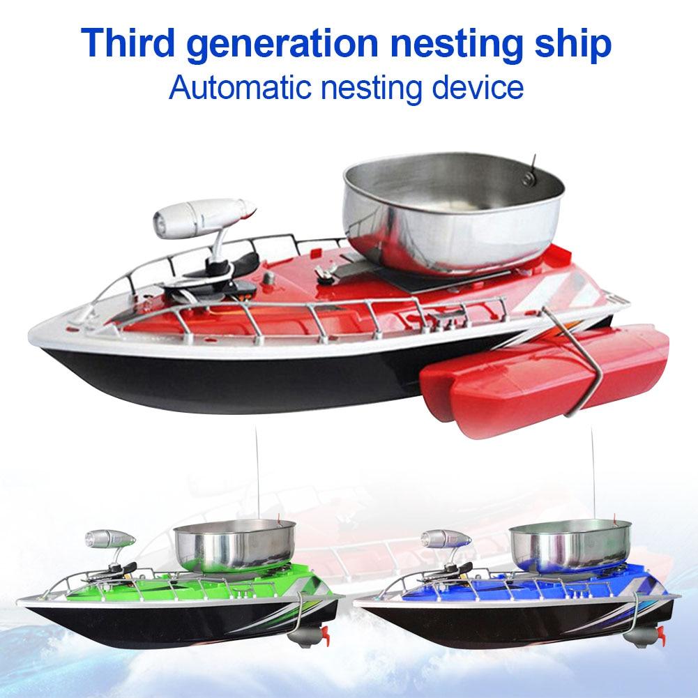 Mini RC Fishing Lure Bait Boat Finding Fish Wireless Remote Control Fish Finder Ship EDF88