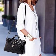 купить Luxury Handbags Women Bags 2019 Brand Designer Shoulder Messenger Bag Plaid Female Clutch Large Capacity PU Leather Tote Bags по цене 834.98 рублей