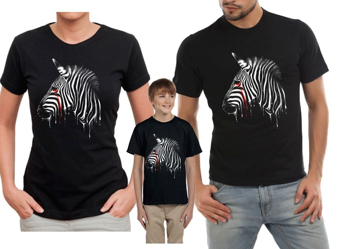 New T Shirts Funny Tops Tee New Unisex Funny TopsDEATH ROW ZEBRA animal t shirt blood vampire Ment Shirt Summer Style in T Shirts from Men 39 s Clothing