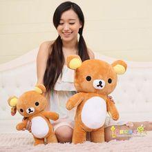 Японский kawaii 35 см 50 см рилаккума большой плюшевый медведь плюшевые  игрушки рилаккума Подушка 90615b5142447