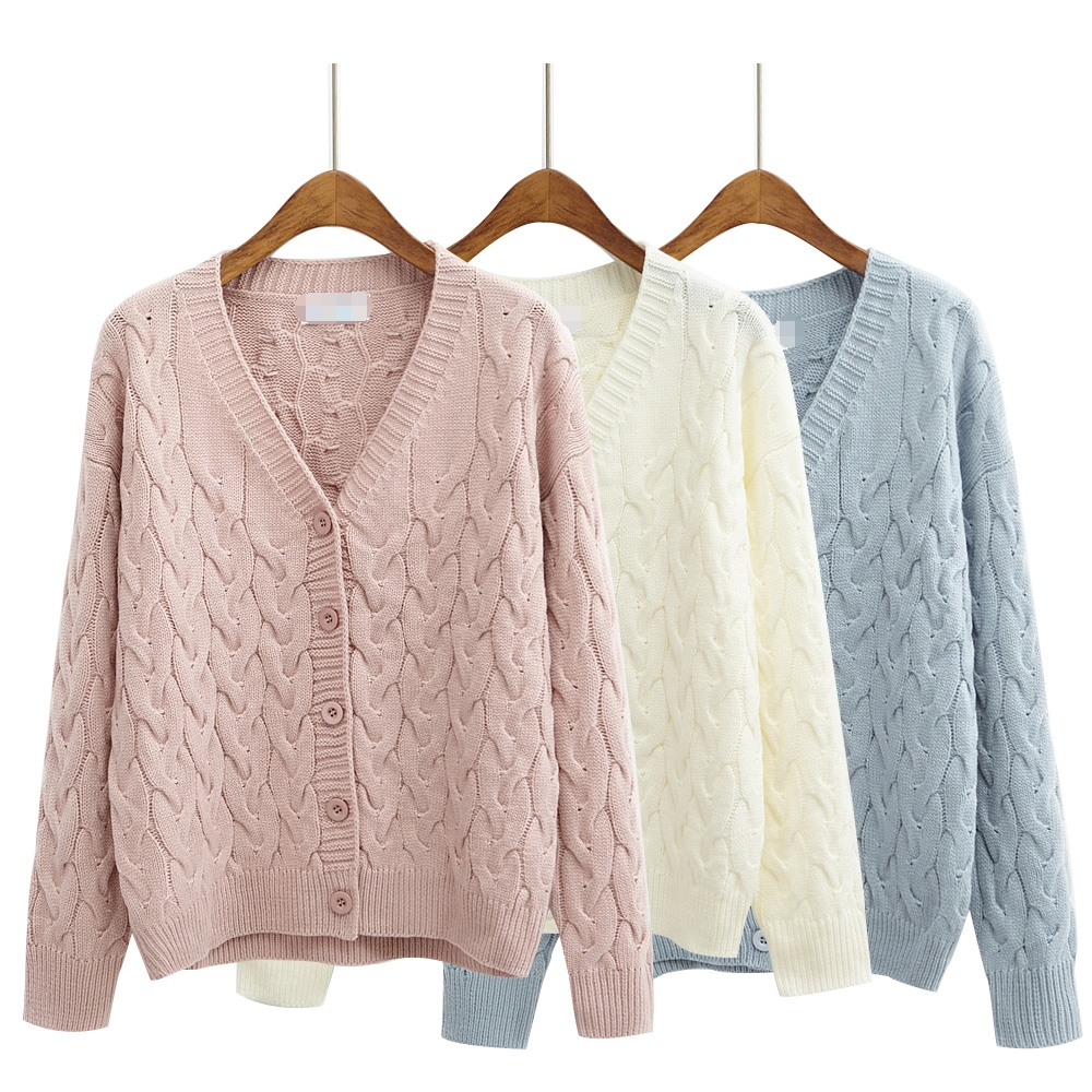 Retro Style Cardigan Sweater