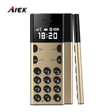 Новая карта телефон aeku/AIEK A5 PK AIEK E1 AIK C6 M5 металла Дизайн для детей старик низкая излучения MP3 плеер Bluetooth Dialer