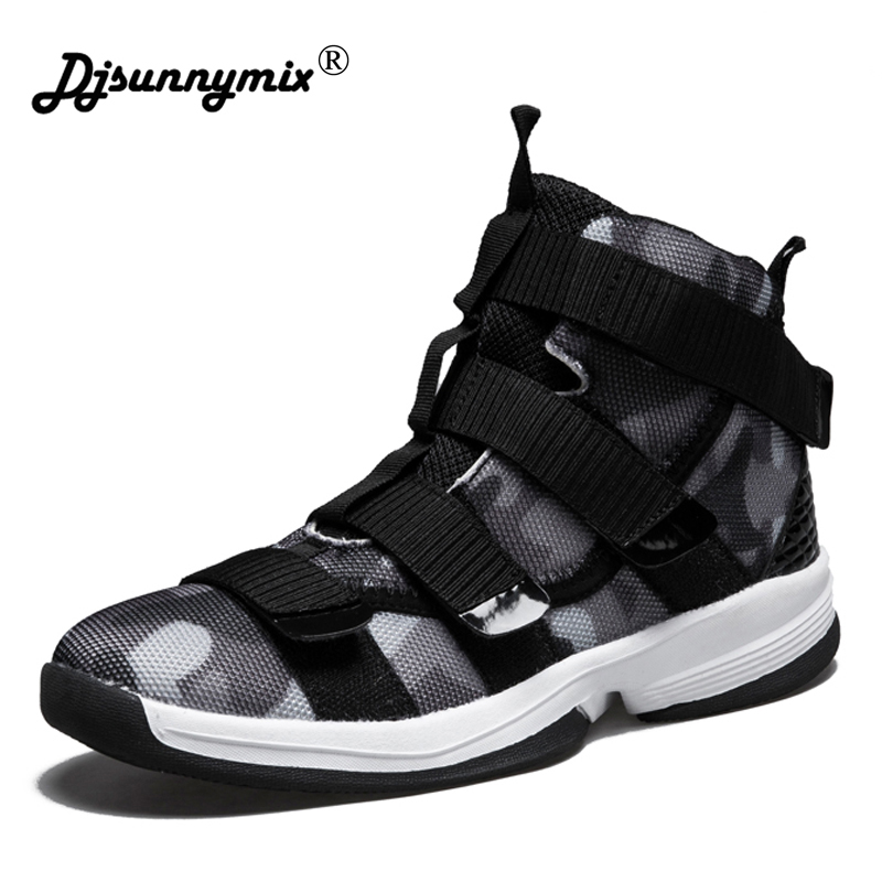 DJSUNNYMIX New Men Running Shoes Breathable Boy Sport Sneakers 2018 Unisex Athletic Shoes Increasing height Women Shoes 36-45