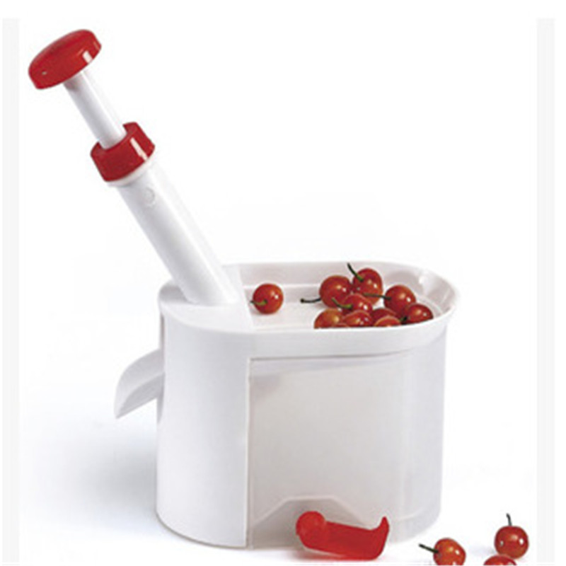 Cherry Seed Remover Cherry Machine Cherries With Container Kitchen Gadgets Tool Kitchen Accessories