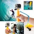 Hot new floaty floating mão pega float monte acessório + strap para gopro hero 3 + 3 2 1 go pro acessórios