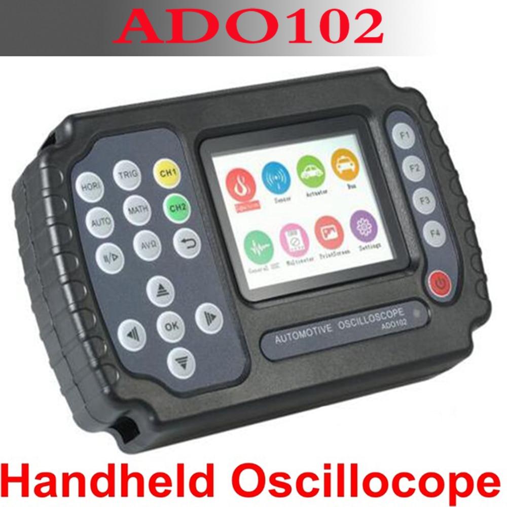 High quality ADO102 handheld oscilloscope 100 MSa / s digital multimeter oscilloscope 2 Chnnels car repair car oscilloscope