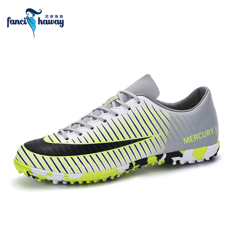 FANCIHAWAY Men Soccer Shoes Professional Indoor Turf Cleats Football Boots Superfly Futsal Lawn Training Sports Trainers цена
