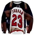 2015 New men/women 3d sweatshirts print jordan NO.23 hoodie sweat shirt hip hop clothes plus size S-XXL Free shipping