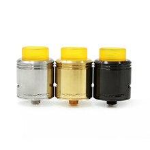 Kryten 24 мм RDA распылитель для электронной сигареты резервуар испаритель восстановление капель RDA распылитель Vape 510 нить Vape испаритель