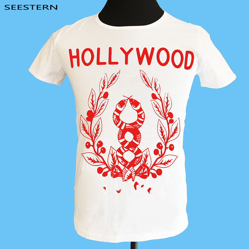 Seestern Brand clothing hollywood t font b shirt b font animal element casual men t font