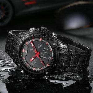 Image 5 - Top Luxury Brand NAVIFORCE Men Military Waterproof LED Sport Watches Mens Clock Male Wrist Watch relogio masculino 2017