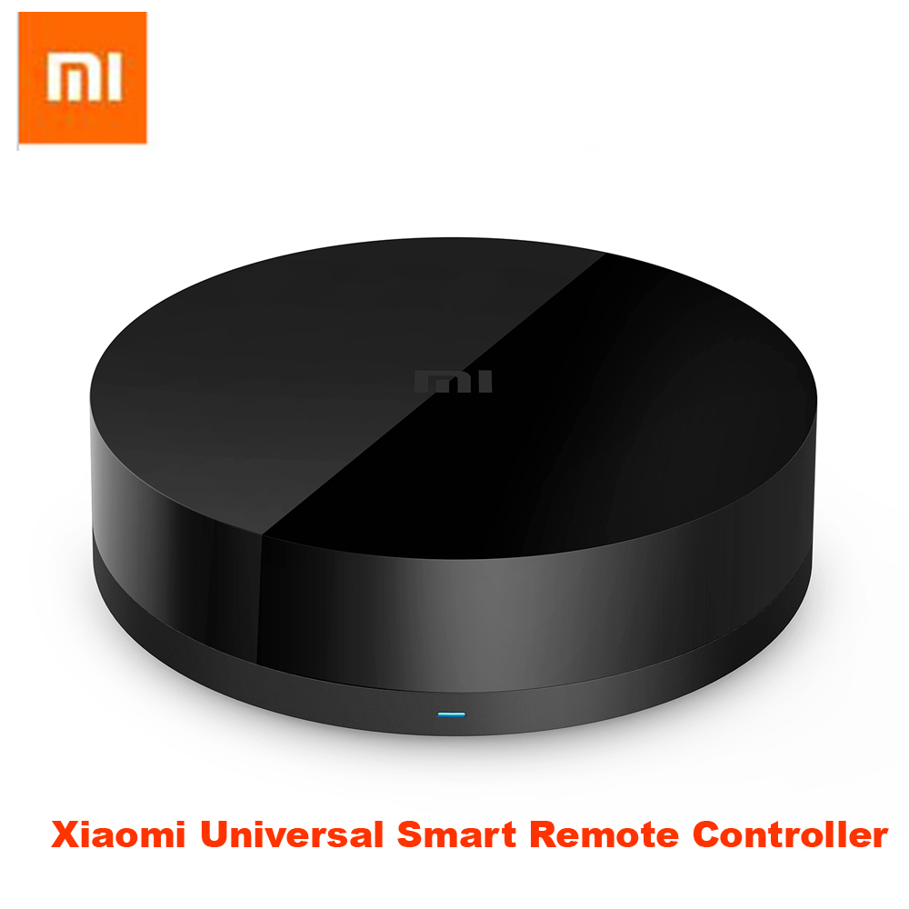 Original Xiaomi Universal Intelligent Smart Remote Controller WIFI+IR Switch 360degree Smart Home Automation Mi smart sensor in stock 100% xiaomi mi universal smart remote controller home appliances wifi ir switch 360 degree smart for air conditioner tv