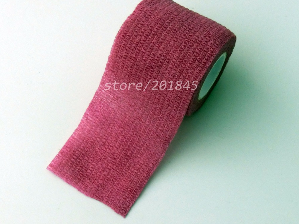 Wholesale 96Pcs/Lot  Non woven elastic gauze Self Adhesive Cohesive Medical Bandage 5cm*4.5m Pink сабо classic clog kids