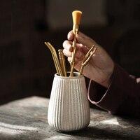 TANGPIN 999 prata e cerâmica conjuntos handmade chinês kung fu cerimônia do chá acessórios de chá
