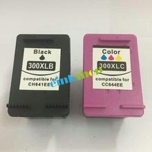 2Pk для HP 300 300XL картридж с чернилами для HP Deskjet F4500 F4580 F4583 F2420 F2480 F4210 F4272 F2483 Photosmart C4680 c4683 C4780