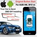 IOS Android Original Botão Iniciar GPS GSM Alarme Do Carro para AUDI A6L VW Hyundai Kia Nissan Toyota PKE Canbus de Bluetooth OBD