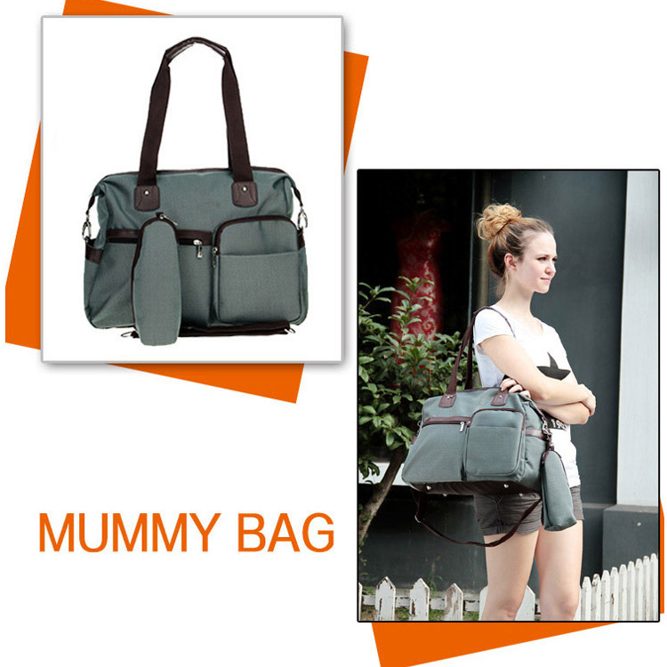 ФОТО 2014 New Design Mummy Bag High quality baby bag diaper bag Retail Multifunctional Mummy Favorite Nappy Bag FREE SHIPPING