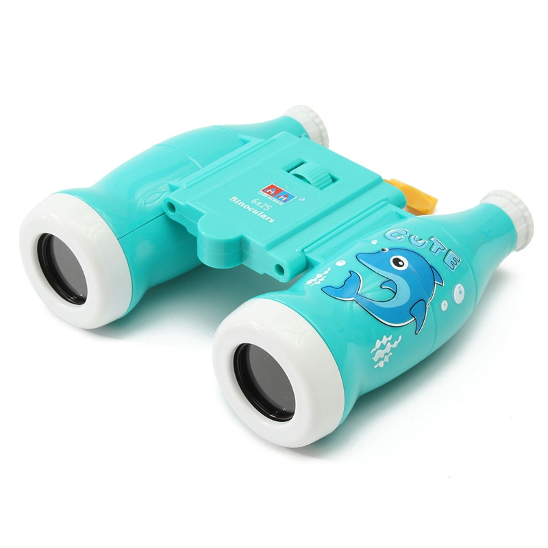 Brand New 6 * 25 Coke Bottle Focusable Telescope Acrylic Binoculars Telescope For Children's Outdoor Scientific Exploration