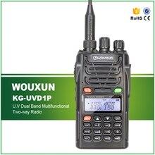 WouXun Radio Walkie Talkie 5W 128CH UHF + VHF KG-UVD1P Poratble Ham Two-Manner Radio