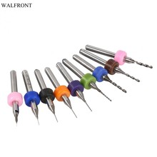 1 4mm drill bit promotion shop for promotional 1 4mm drill bit on10 pcs case pcb drill bits print circuit board carbide micro drill bits tool set 0 1mm to 1 4mm optional