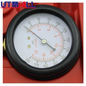 Image 2 - Benzin Engine Compression Tester Tool Kit Mit Verlängerung Bar 0 ~ 300psi M10 M12 M14 M18 Adapter