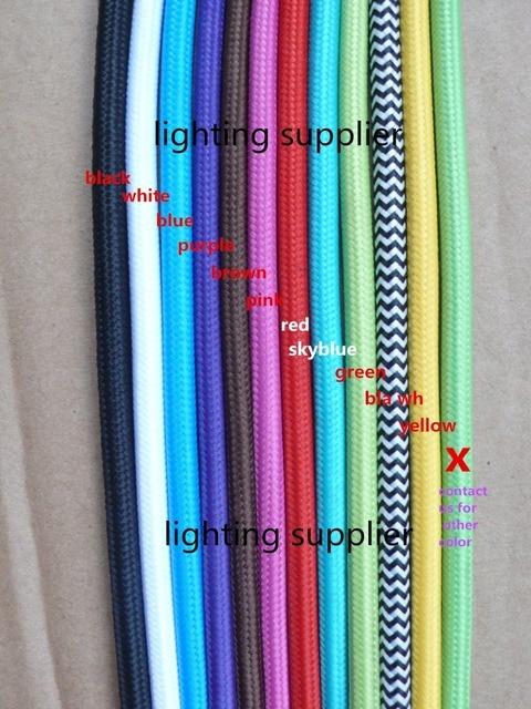 Mtres Multicolore  Noyau Mm Textile Fil lectrique Couleur