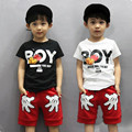 Children with 1 child private 3 summer baby 5 6 7 clothes 9 years old shirt + shorts suits summer summer